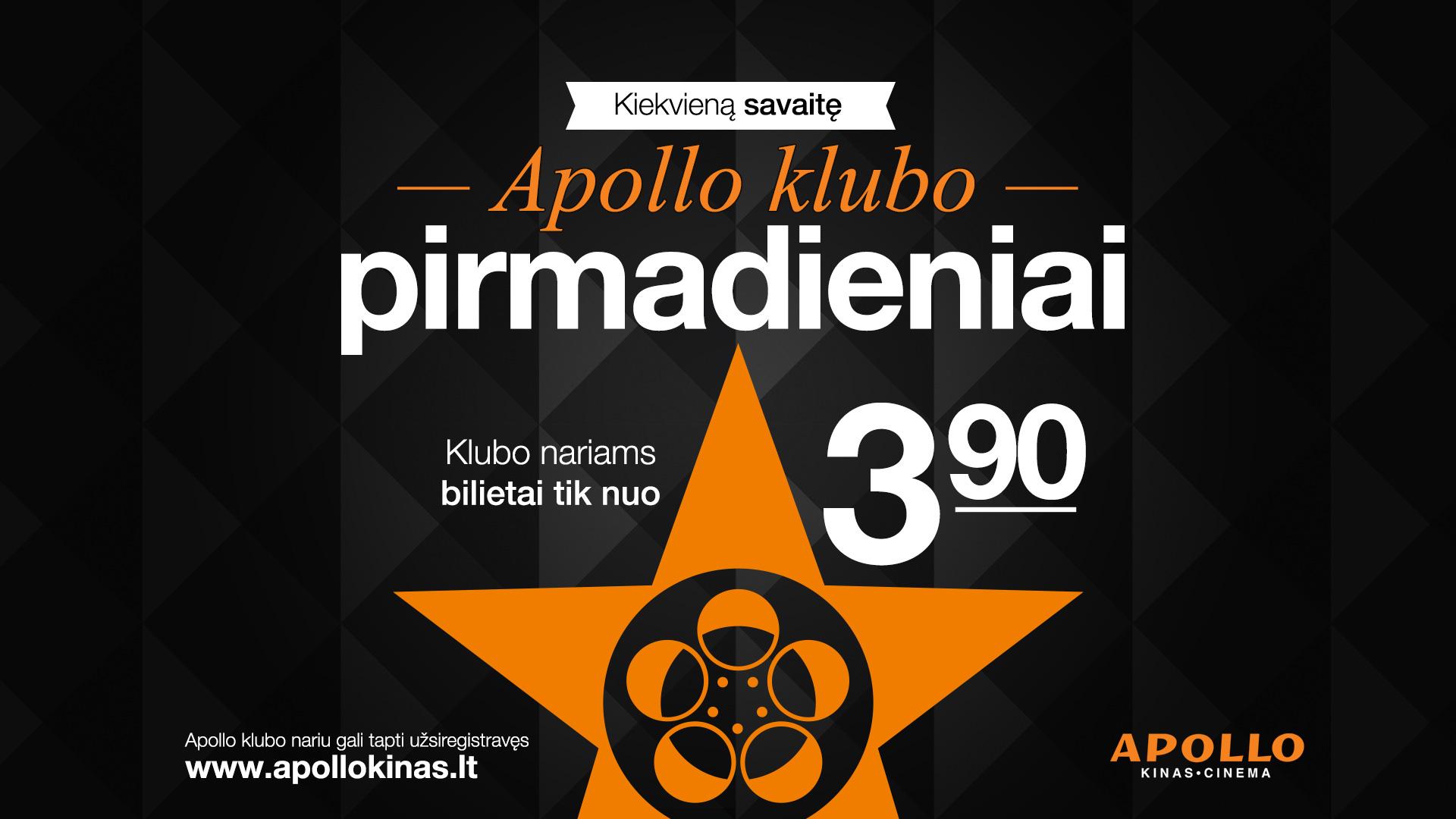 Apollo klubo pirmadieniai